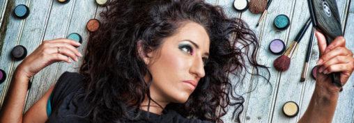 Headshot makeup artist